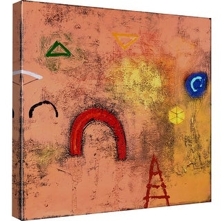 """PTM Images 9-98764  PTM Canvas Collection 12"""" x 12"""" - """"Abstract Playground"""" Giclee Abstract Art Print on Canvas"""