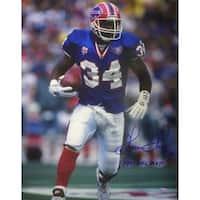 Thurman Thomas signed Buffalo Bills 16x20 Photo 1991 MVP
