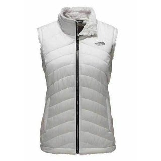 Link to The North Face Women's Holiday Mossbud Swirl Vest Vaporous Grey (NF0A2VFXEY8) Similar Items in Women's Outerwear
