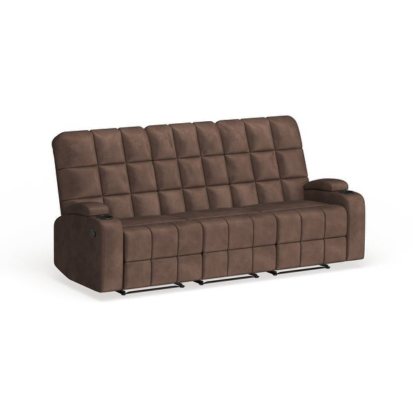 Copper Grove Bielefeld Microfiber 3-seat and 4-seat Recliner Sofas. Opens flyout.