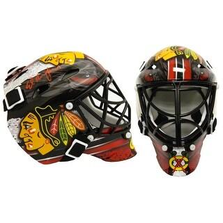 Ed Belfour Chicago Blackhawks Franklin Mini Hockey Goalie Mask