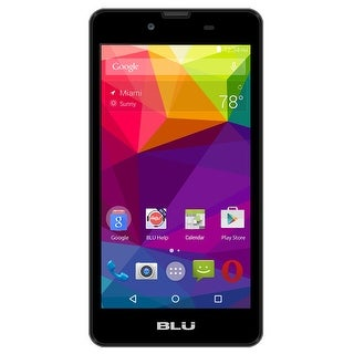 BLU Studio X5 S390U Unlocked GSM Dual-SIM Quad-Core Android Phone - Black (Certified Refurbished)