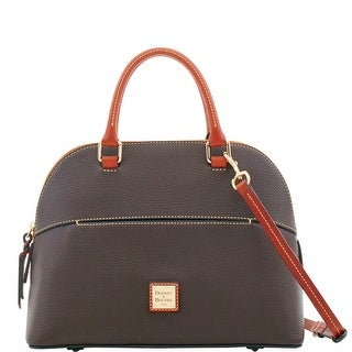 Dooney & Bourke Pebble Grain Carter Satchel (Introduced by Dooney & Bourke at $228 in Aug 2018)