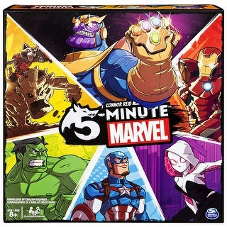 5 Minute Marvel Card Game - multi