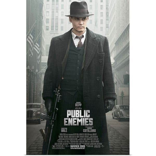 Shop Black Friday Deals On Public Enemies 2009 Poster Print Overstock 24135349