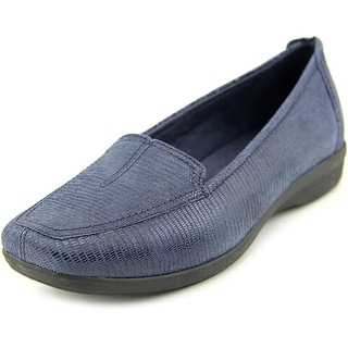 Clarks Haydn Gloss W Square Toe Leather Loafer
