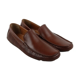 Kenneth Cole Reaction Design 20156 Mens Brown Casual Dress Loafers Shoes