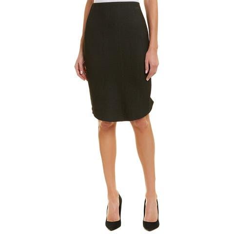Alton Gray Pencil Skirt