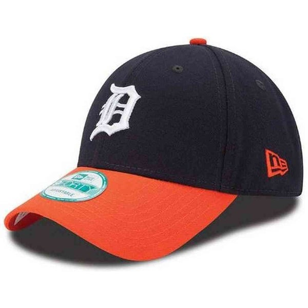 Shop New Era Detroit Tigers Baseball Cap MLB League Team Hat 2 Tone 9Forty  10963138 - Free Shipping On Orders Over  45 - Overstock - 17743799 be019c3f74fa