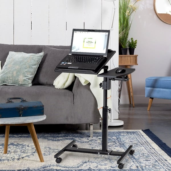 Height Adjule Laptop Desk Rolling