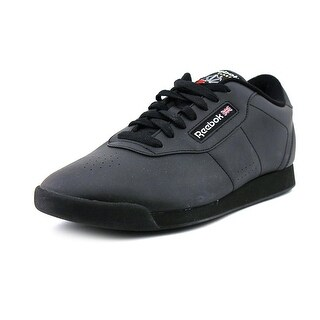 Reebok Princess Women W Round Toe Synthetic Black Fashion Sneakers