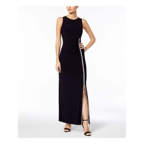 MSK Womens Black Sleeveless Maxi Formal Dress Size 8