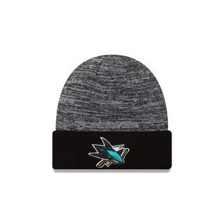 San Jose Sharks Team Rapid Cuffed Knit Hat