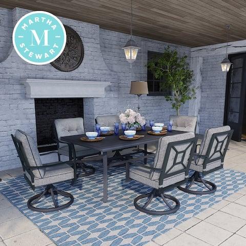 Martha Stewart Thornfield 7-piece Patio Dining Set