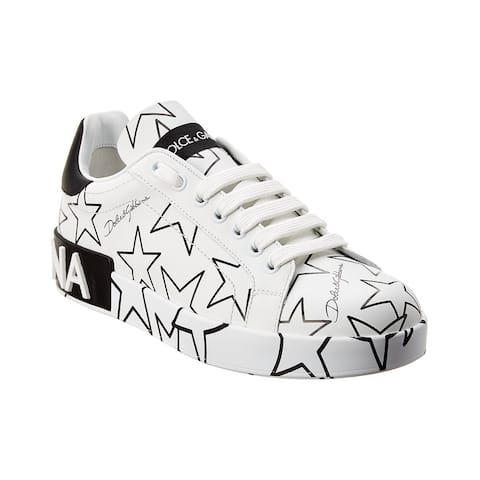 Dolce & Gabbana Stars Leather Sneaker