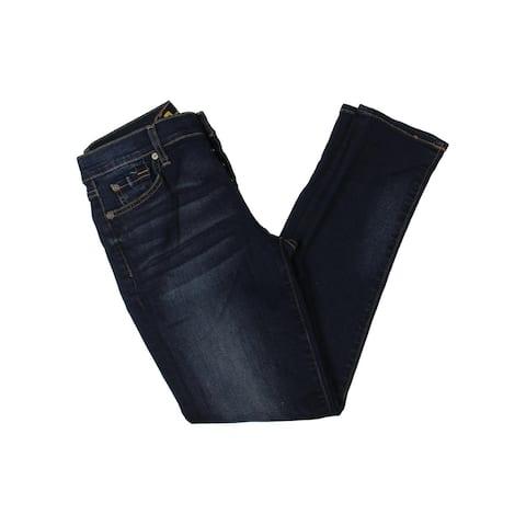 7 For All Mankind Womens Josefina Boyfriend Jeans Feminine Skinny