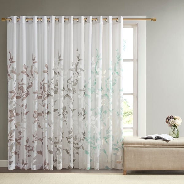 The Gray Barn Yturria Grey Printed Curtain Panel. Opens flyout.