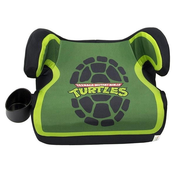 Nickelodeon KidsEmbrace TMNT Belt Positioning Backless Booster Car Seat
