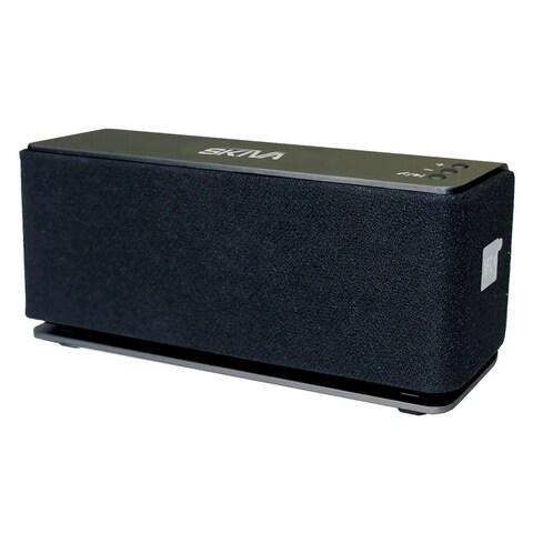 Skiva BigBass 20 Watt Dual-Driver High Fidelity Sound Portable Wireless Speaker with Deep Bass for iPhone X / 8 8+ / 7, Samsung