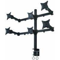 Mount-It! Hex LCD Monitor Mount Stand for Six Monitors