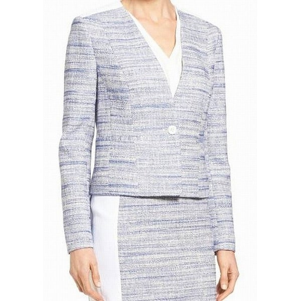 Classiques Entier Women's Textured Marled Knit Jacket
