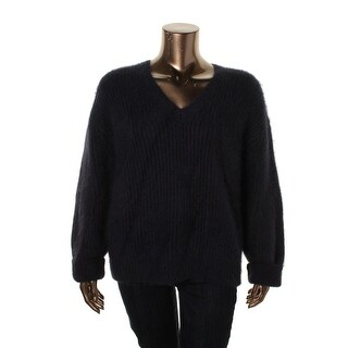 Michael Kors Womens Angora Long Sleeves Pullover Sweater - XS