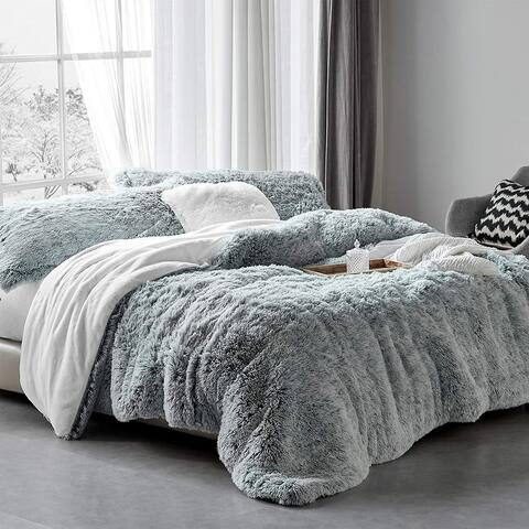 Are You Kidding? - Coma Inducer® Oversized Comforter - Frosted Dark Gray