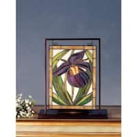 Meyda Tiffany 68351 Stained Glass Tiffany Window from the Wildflowers Collection - n/a