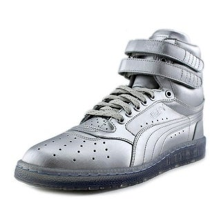 Puma Sky II Hi Platinum Men Round Toe Synthetic Silver Sneakers