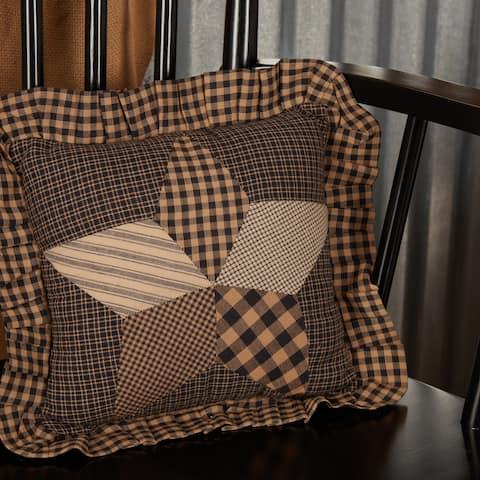 Farmhouse Star Pillow 10x10
