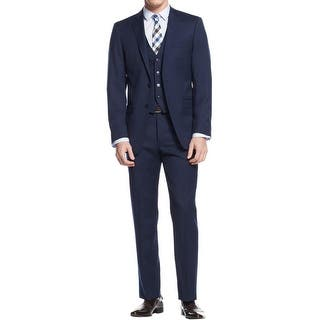 Calvin Klein Mens Two-Button Suit Wool 3PC - 42r|https://ak1.ostkcdn.com/images/products/is/images/direct/9be436115fe15aa59158a1a0703e9a1e87d20f76/Calvin-Klein-Mens-Two-Button-Suit-Wool-3PC.jpg?impolicy=medium