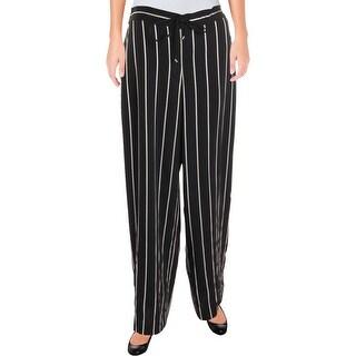 Ralph Lauren Womens Blakeney Dress Pants Striped Day to Night