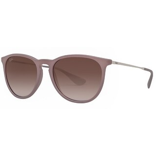 Ray Ban RB4171 6000/68 54mm Erika Brown/Silver Violet Gradient Round Sunglasses - Light brown - 54mm-18mm-145mm