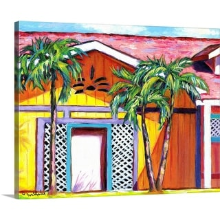 """Cayman Colors"" Canvas Wall Art"