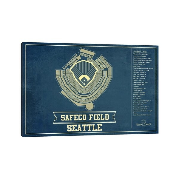 """iCanvas """"Seattle Safeco Field"""" by Cutler West Canvas Print. Opens flyout."""