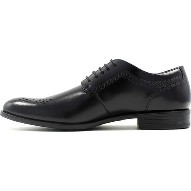 Stacy Adams Somerton Mens shoes Black Leather Plain toe oxford Lace up 25101-001