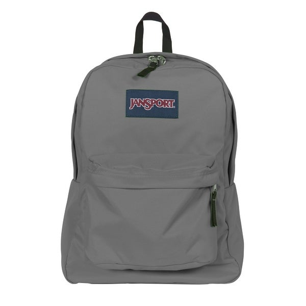 9848bab06ac5 Shop Jansport Superbreak Backpack (Forge Grey) - Forge Grey - One size -  Free Shipping On Orders Over  45 - Overstock - 14710442