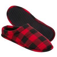 Dearfoams Mens Dearfoams Closed Toe Slip On Slippers