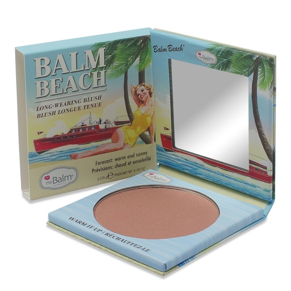 theBalm Balm Beach Warm it Up Face Blush 0.225 Oz
