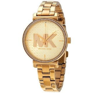 Link to Michael Kors Women's MK4334 Sofie Gold Stainless Steel Watch - One Size Similar Items in Women's Watches