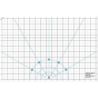 """Daylight Wafer 2 Transparent Cutting Mat-11""""X17"""""""