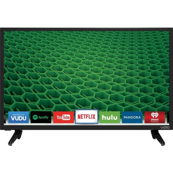 Vizio D24-D1 24-inch LED Smart TV - 1920 x 1080 - 60 Hz - DTS (Refurbished)