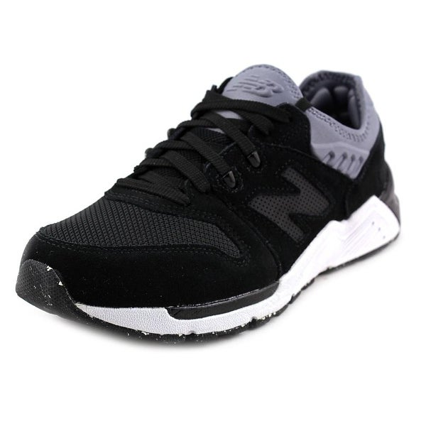 New Balance ML009 Men Round Toe Synthetic Black Sneakers