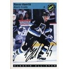 Roman Hamrlik Tampa Bay Lightning 1993 Classic Pro Hockey Prospects All Star Autographed Card Rookie Card This item