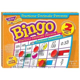 Fractions Decimals & Percents Bingo