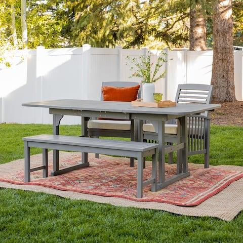Surfside 4-piece Acacia Patio Dining Set by Havenside Home