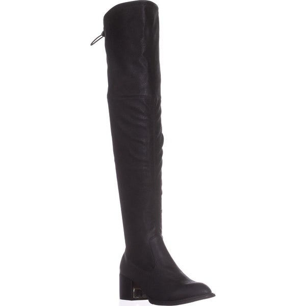 BCBGeneration Sawyar Over The Knee Slouch Boots, Black - 6.5 us