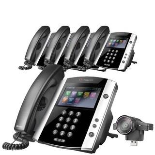 """""""Polycom VVX 600 (5-Pack) Business Media Phone"""""""