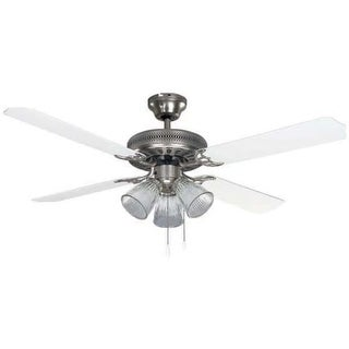 Canarm CF52CHA4 Chateau II 3-Light 4 Blade Hanging Ceiling Fan - n/a