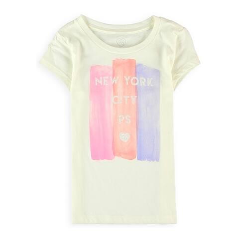 Aeropostale Girls New York City Glitter Graphic T-Shirt - 5